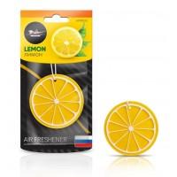 Ароматизатор подвесной пластик Сочный фрукт лимон