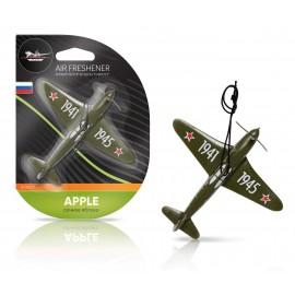 Ароматизатор подвесной пластик Самолет сочное яблоко